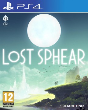 Lost Sphear PS4 Cover