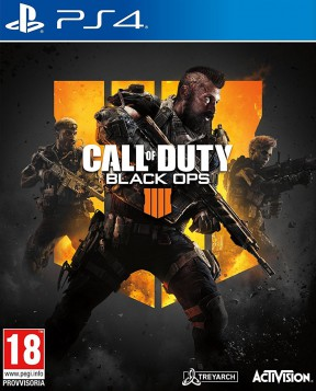 Call of Duty: Black Ops 4 PS4 Cover