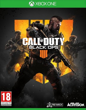 Call of Duty: Black Ops 4 Xbox One Cover
