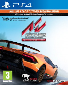 Assetto Corsa Ultimate Edition PS4 Cover