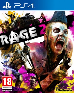 RAGE 2 PS4 Cover