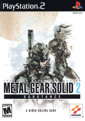 Copertina Metal Gear Solid 2: Substance - PS2