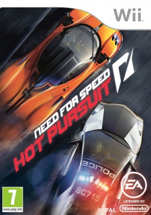 Copertina Need for Speed: Hot Pursuit - Wii