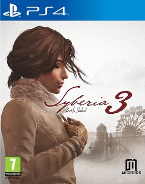 Copertina Syberia 3 - PS4