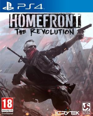 Copertina Homefront: The Revolution - PS4