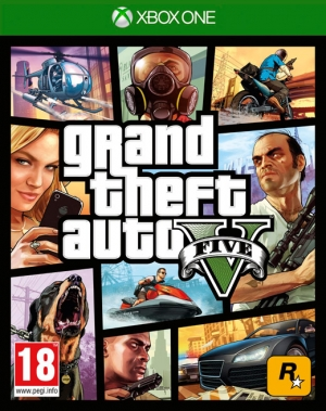 Copertina Grand Theft Auto V - Xbox One