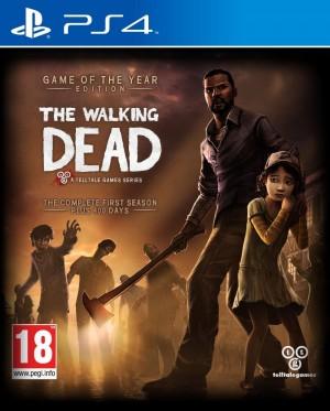 Copertina The Walking Dead - PS4