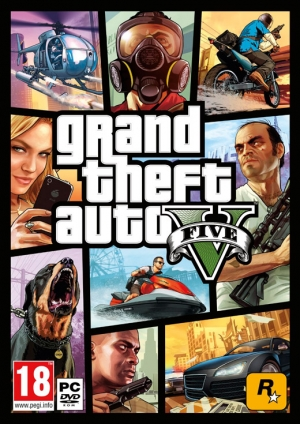 Copertina Grand Theft Auto V - PC