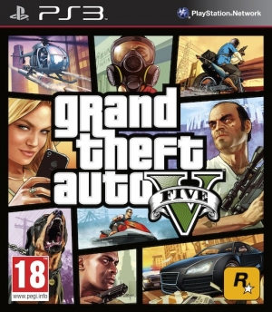 Copertina Grand Theft Auto V - PS3