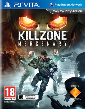 Copertina Killzone Mercenary - PS Vita