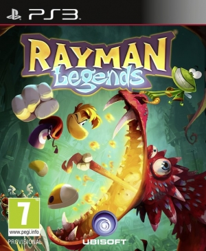 Copertina Rayman Legends - PS3