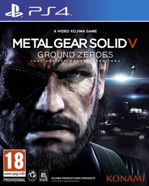 Copertina Metal Gear Solid V: Ground Zeroes - PS4