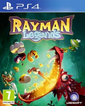 Copertina Rayman Legends - PS4