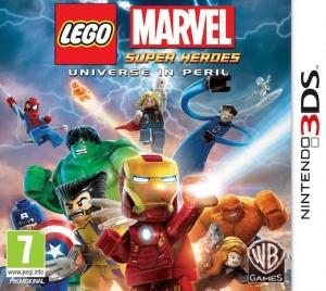 Copertina LEGO Marvel Super Heroes - 3DS