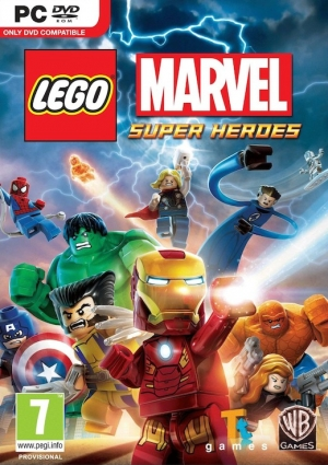 Copertina LEGO Marvel Super Heroes - PC
