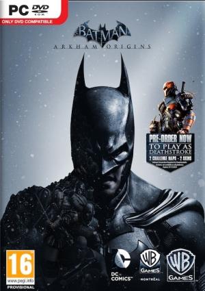 Copertina Batman: Arkham Origins - PC