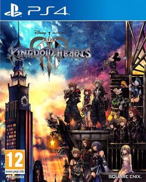 Copertina Kingdom Hearts III - PS4