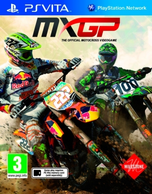 Copertina MXGP: The Official Motocross Videogame - PS Vita
