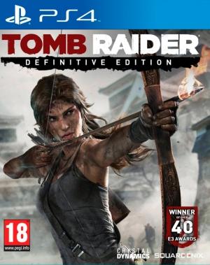 Copertina Tomb Raider Definitive Edition - PS4