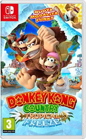 Copertina Donkey Kong Country: Tropical Freeze - Switch