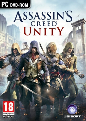 Copertina Assassin's Creed: Unity - PC