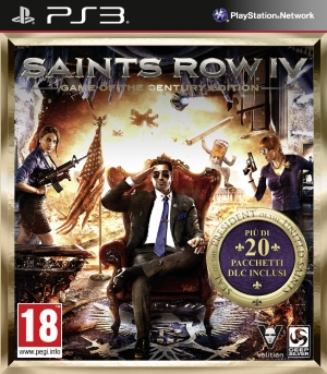 Copertina Saints Row IV Game Of The Century Edition - PS3