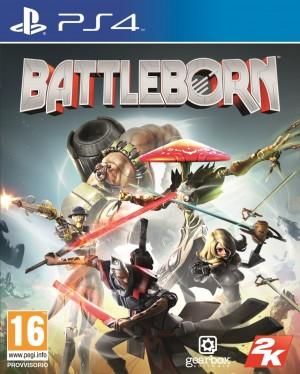 Copertina Battleborn - PS4