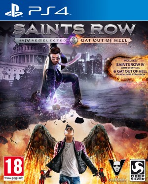 Copertina Saints Row IV: Re-Elected - PS4