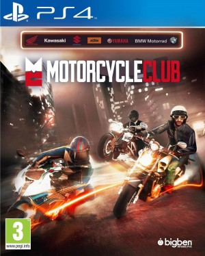 Copertina Motor Cycle Club - PS4