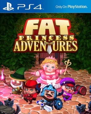 Copertina Fat Princess Adventures - PS4