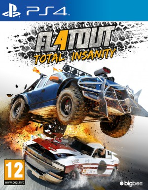 Copertina FlatOut 4: Total Insanity - PS4