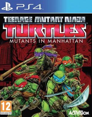 Copertina Teenage Mutant Ninja Turtles: Mutanti a Manhattan - PS4