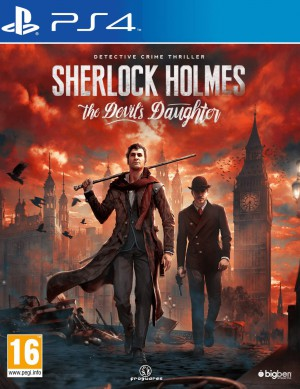 Copertina Sherlock Holmes: The Devil's Daughter - PS4