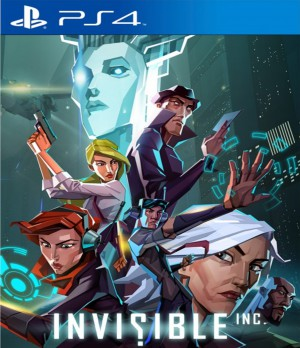 Copertina Invisible, Inc. - PS4