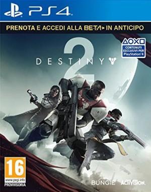 Copertina Destiny 2 - PS4