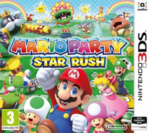 Copertina Mario Party: Star Rush - 3DS