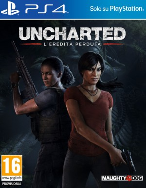 Copertina Uncharted: L'Eredità Perduta - PS4