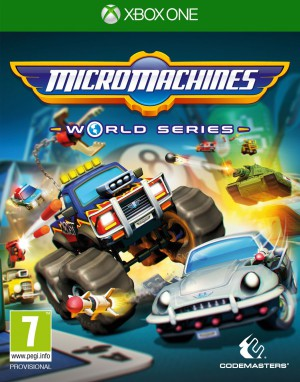 Copertina Micro Machines World Series - Xbox One