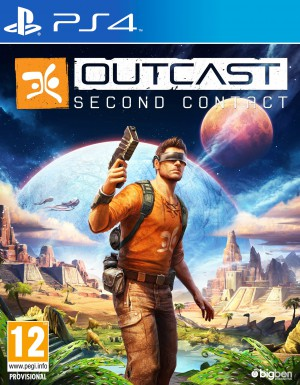 Copertina Outcast - Second Contact - PS4