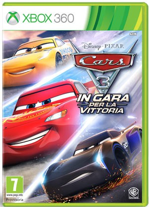Copertina Cars 3: In Gara per la Vittoria - Xbox 360