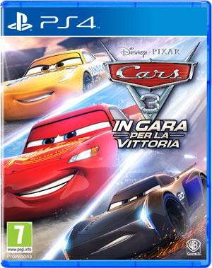 Copertina Cars 3: In Gara per la Vittoria - PS4