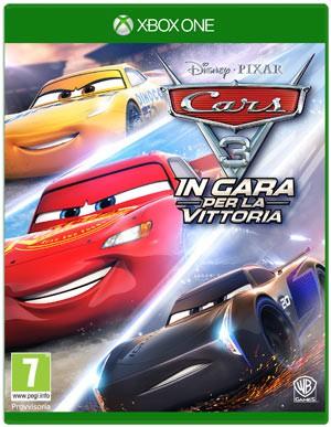 Copertina Cars 3: In Gara per la Vittoria - Xbox One