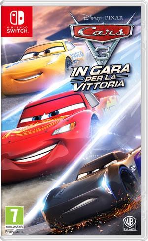 Copertina Cars 3: In Gara per la Vittoria - Switch