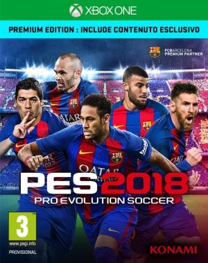 Copertina PES 2018 - Xbox One