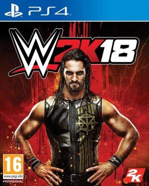 Copertina WWE 2K18 - PS4