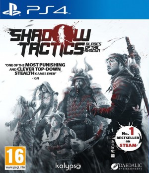 Copertina Shadow Tactics: Blades of the Shogun - PS4