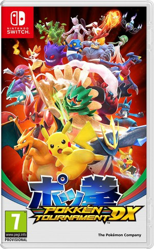 Copertina Pokkén Tournament DX - Switch