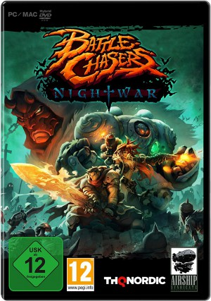Copertina Battle Chasers: Nightwar - PC