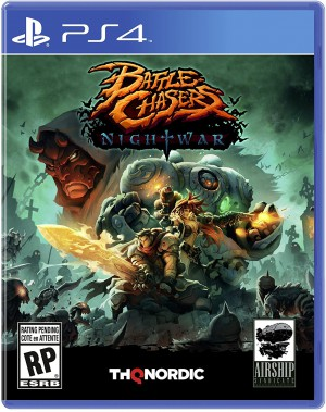 Copertina Battle Chasers: Nightwar - PS4