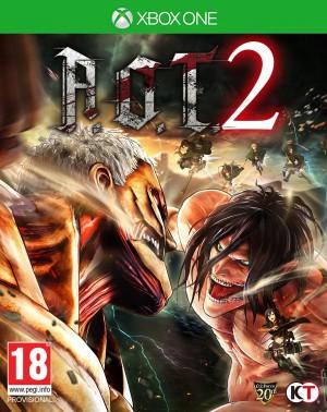 Copertina Attack On Titan 2 - PS4